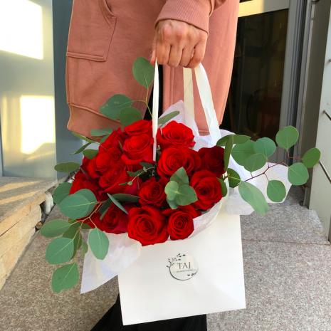 buchete trandafiri rosii pitesti taj